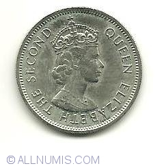 Image #1 of 1/2 Rupee 1974