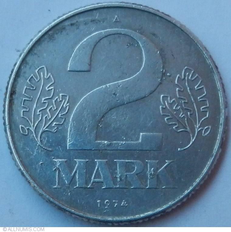 1974 Deutsche Mark 2 2 Mark 1974 a