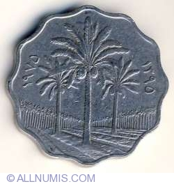 Image #2 of 10 Fils 1975 (AH1395)