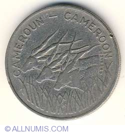 Image #2 of 100 Francs 1975