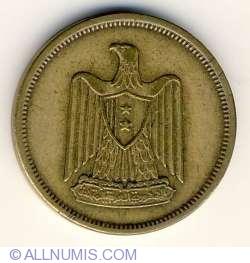 Imaginea #2 a 5 Milliemes 1960 (AH 1380)