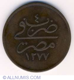 Imaginea #1 a 20 Para 1864 (AH 1277/4)
