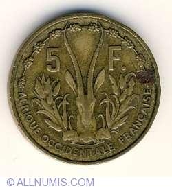 Image #2 of 5 Francs 1956