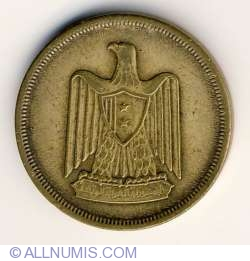 Imaginea #2 a 10 Milliemes 1960 (AH 1380)