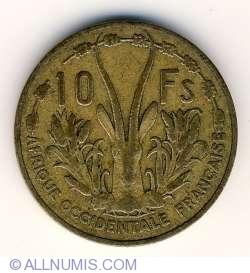 Imaginea #2 a 10 Francs 1956