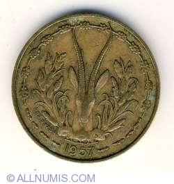 Image #2 of 10 Francs 1957