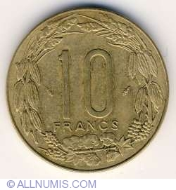 Image #1 of 10 Francs 1975