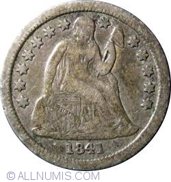 Image #1 of Seated LIberty DIme 1841