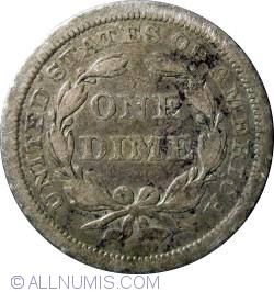 Image #2 of Seated LIberty DIme 1841