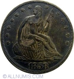 Image #1 of Half Dollar 1858
