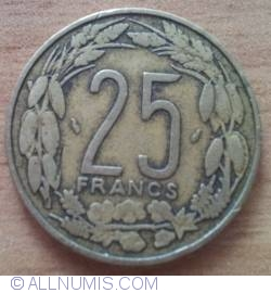 Image #1 of 25 Francs 1975