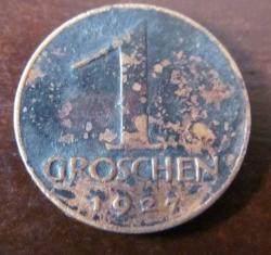 Image #1 of 1 Groschen 1927