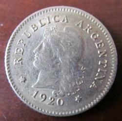 Image #1 of 10 Centavos 1920