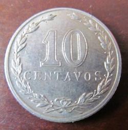 Image #2 of 10 Centavos 1920