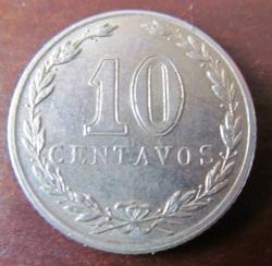 Image #1 of 10 Centavos 1921