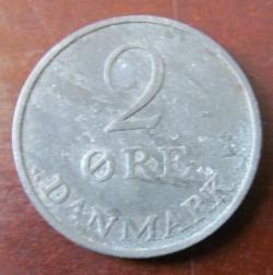 Imaginea #2 a 2 Øre 1955