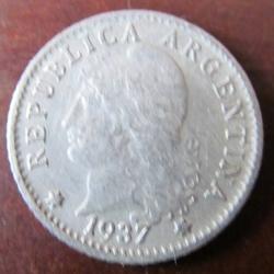 Image #1 of 5 Centavos 1937