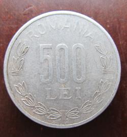 500 Lei 1999 cu cifre groase