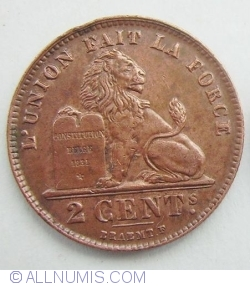 Image #1 of 2 Centimes 1919 (French)