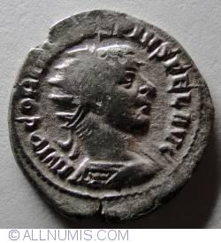 Silver Antoninian Gordian III - Oriens-sol