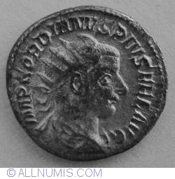 Image #1 of Silver Antoninian Gordian III (238-244) - Hercule