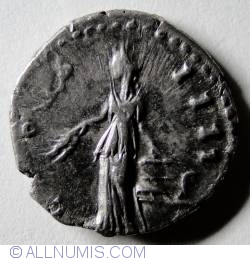 Imaginea #2 a Denar Argint Antoninus Pius ND (138-161)