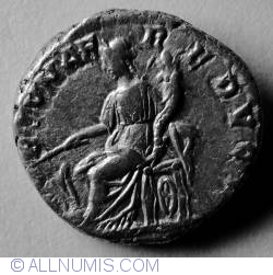 Image #2 of Silver Denar Septimius Severus - Fortuna