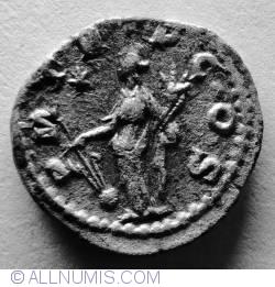 Image #2 of Silver Denar Severus Alexander ND (222-235) - Fortuna