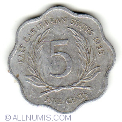 Image #1 of 5 Cents 1995