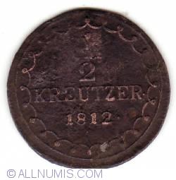 Image #1 of 1/2 Kreuzer 1812 S