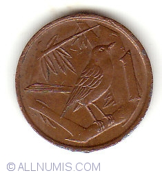 Image #1 of 1 Cent 1990