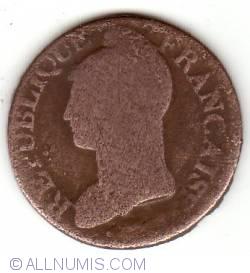 Imaginea #1 a 5 centimes 1797 (L'AN 6)