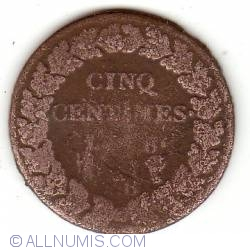 Image #2 of 5 centimes 1797 (L'AN 6)