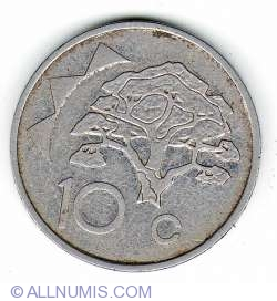 Image #1 of 10 Cents 1993