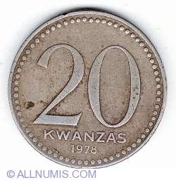 Image #1 of 20 Kwanzas 1978
