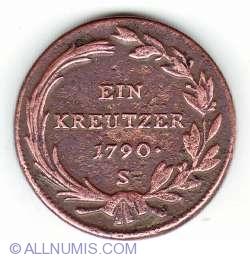 1 Kreutzer 1790 S