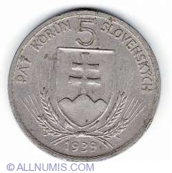 Image #1 of 5 Korun 1939