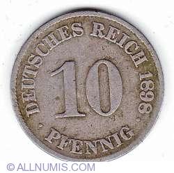 10 Pfennig 1898 J