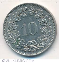 10 Rappen 1957