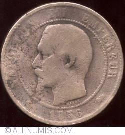 10 Centimes 1856 D