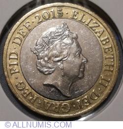 Imaginea #2 a 2 Pounds 2015 - Brittannia