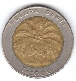 1000 Rupiah 1997