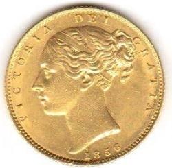 Sovereign 1856