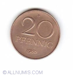 Image #1 of 20 Pfennig 1980