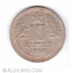 Image #1 of 10 Kurus 1936