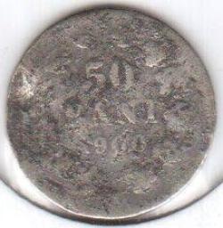 Image #2 of [COUNTERFEIT] 50 Bani 1900