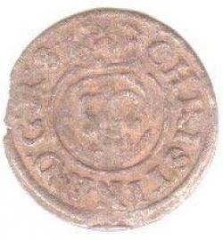 Image #1 of Christina of Sweden Shilling Imitation ND (1647) - MBR 883