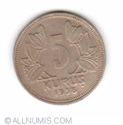 Image #1 of 5 Kurus 1938