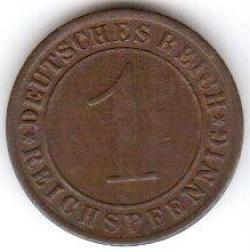 Image #1 of 1 Reichspfennig 1930 G