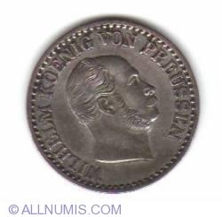 Image #2 of 1 Silber Groschen 1864 A